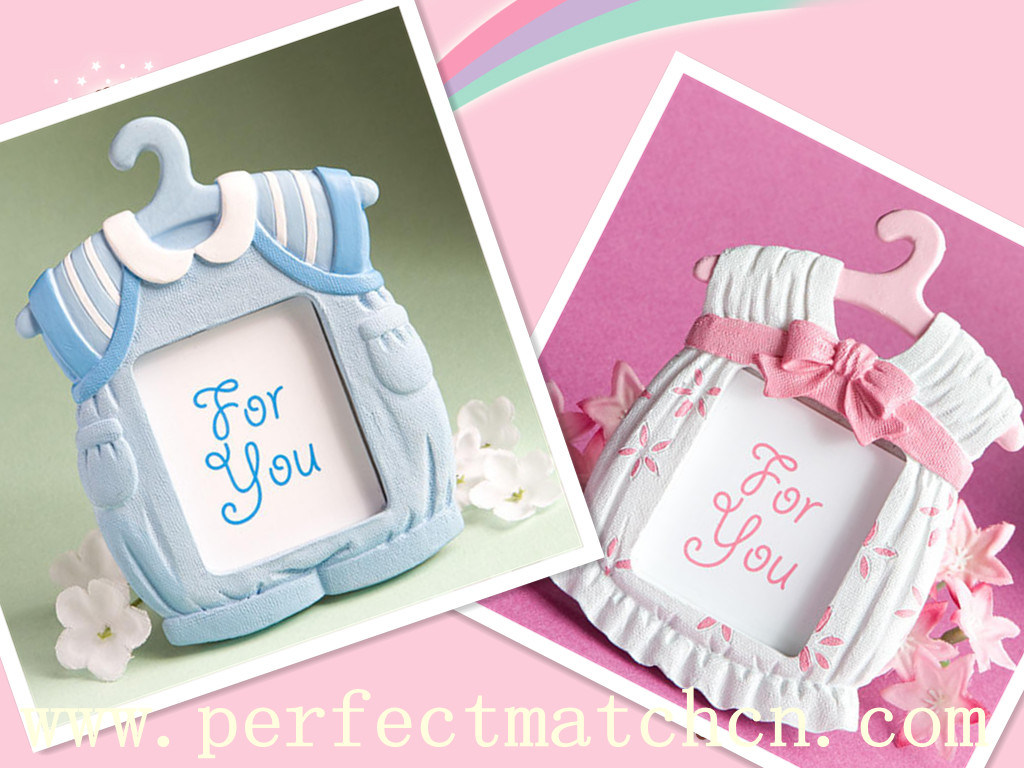 Cute Baby Themed Photo Frame/Place Card Favors (PM-PC020)
