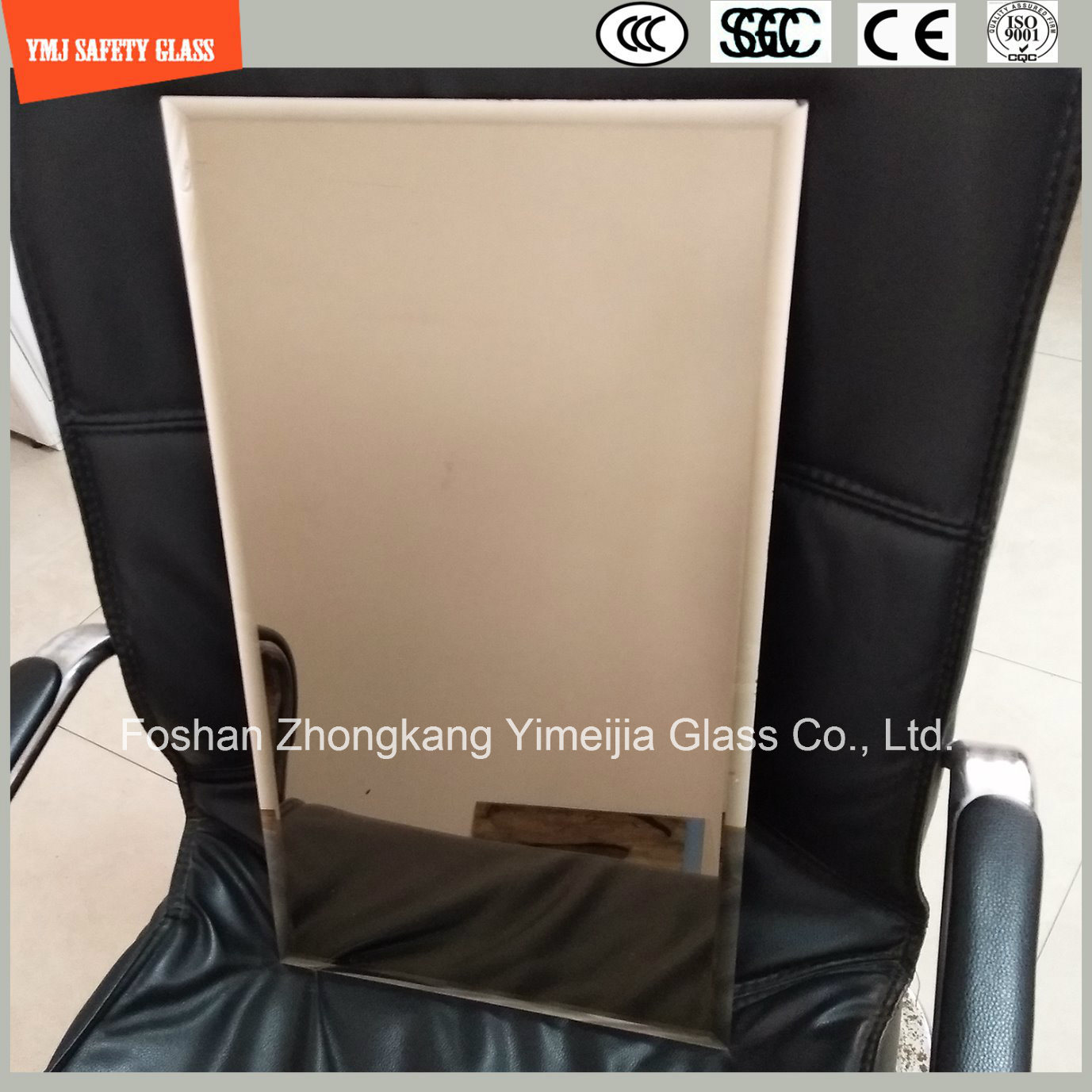 3-12mm Silver Glass Mirror for Shower Room, Dressing, Furniture
