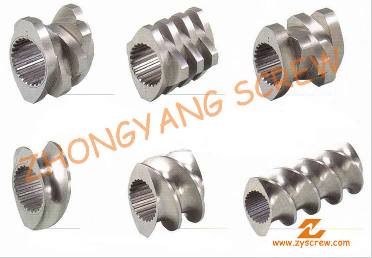 Segment Screw Barrel for Twin-Screw PVC Pelletizing