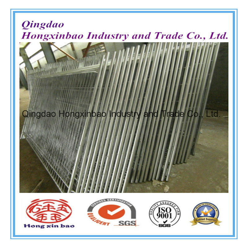 Easy to Install Galvanized Chain Link Mesh Temporary Fence