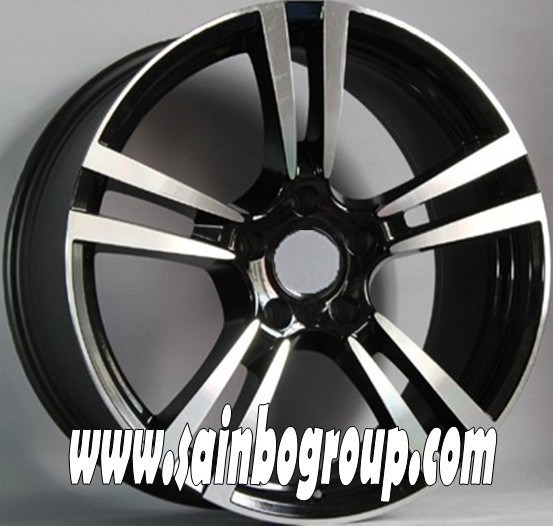 14 Inch 4X100 Black Machine Face Car Alloy Wheel