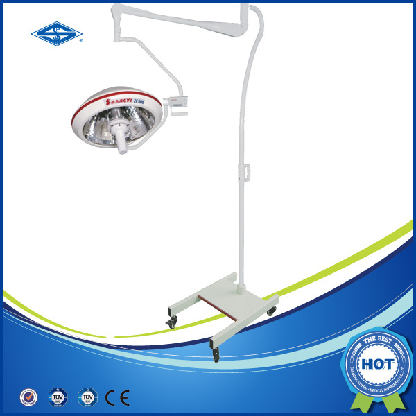 Operating Room Standing Halogen Surgical Theatre Light (ZF500S)