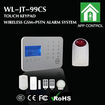 DIY Dual Network Alarm System with Wireless Strobe Siren