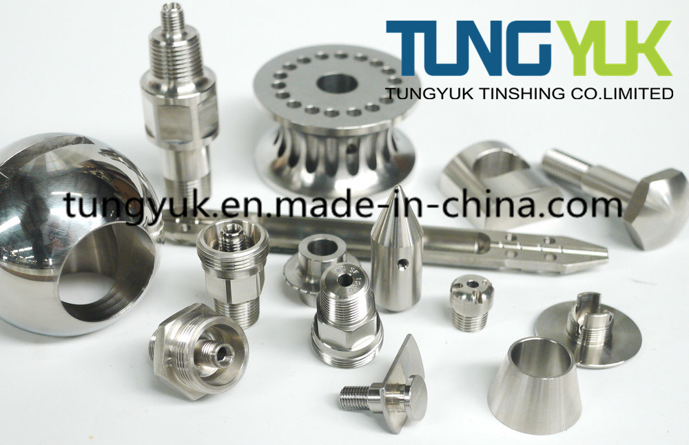 Stainless Steel CNC Machining with Spare Parts Engine Parts