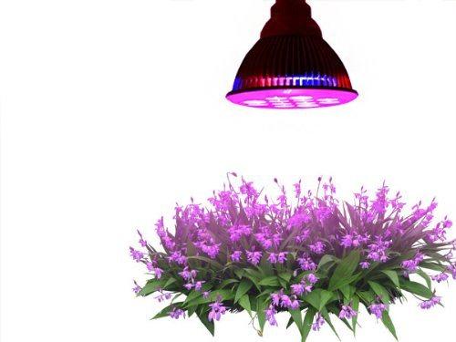 12W High Efficiency Hydroponics LED Lamp Bulb E27 Plant Grow Light