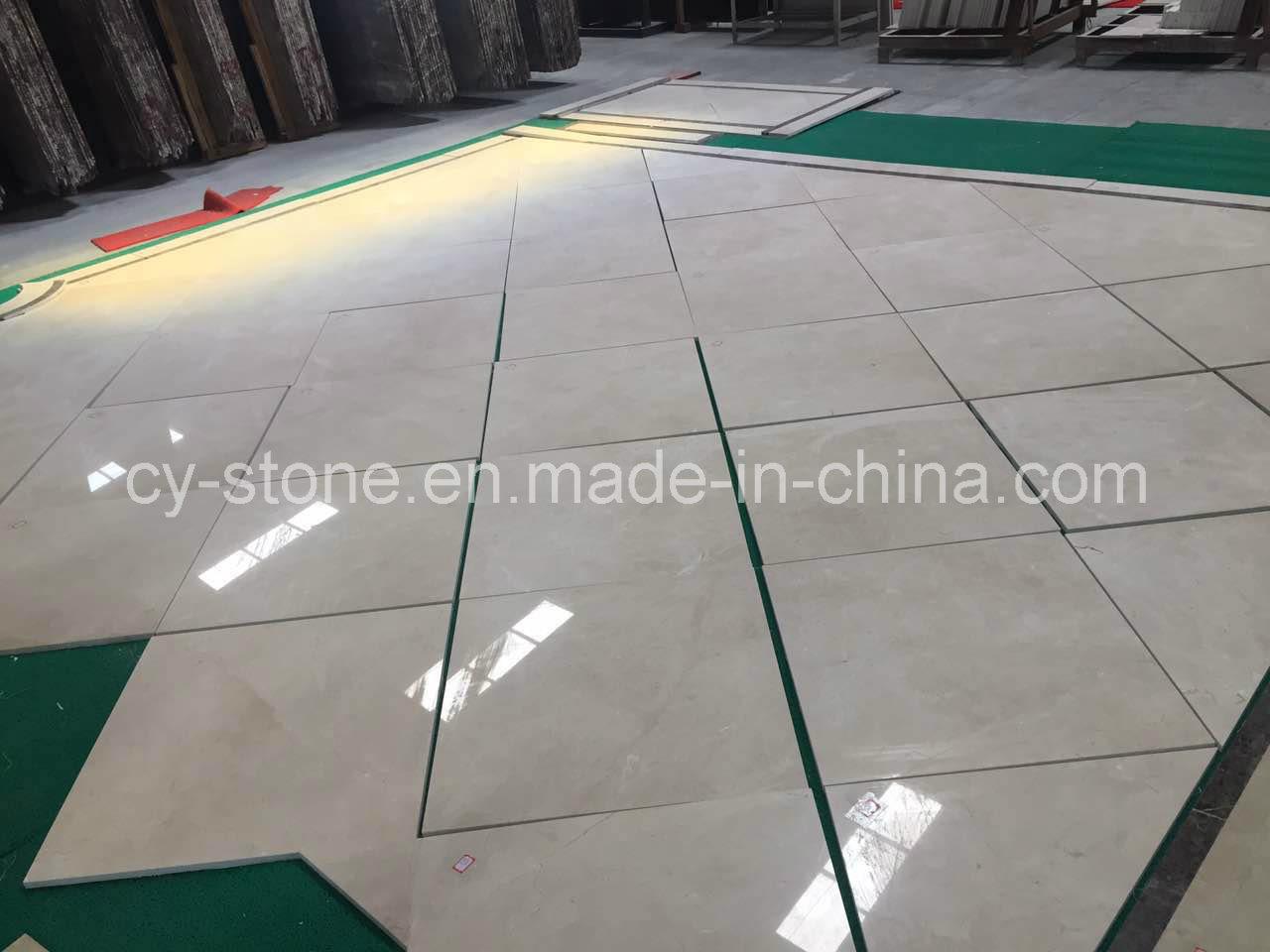 Crema Marfil Beige Marble Granite for Wall/Floor/Bathroom/Countertop