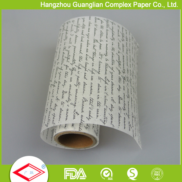 """OEM 12"""" Width Non-Stick Silicone Coated Baking Paper Roll"""