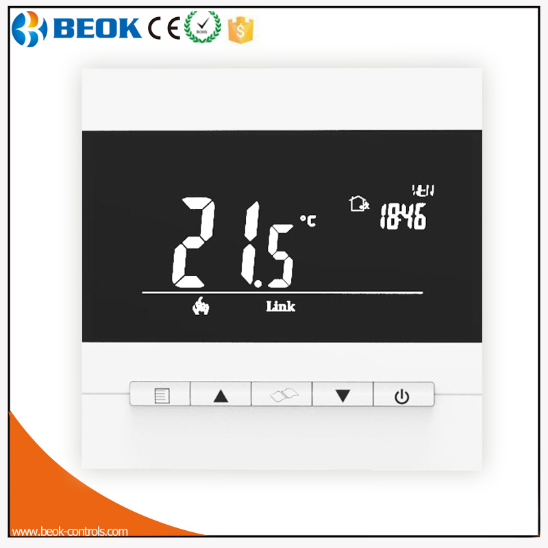 LCD Digital Display Electrical Underfloor Heating Room Thermostat (TOL40-EP)