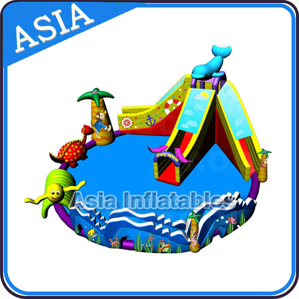 Giant Backyard Inflatable Water Park for Children