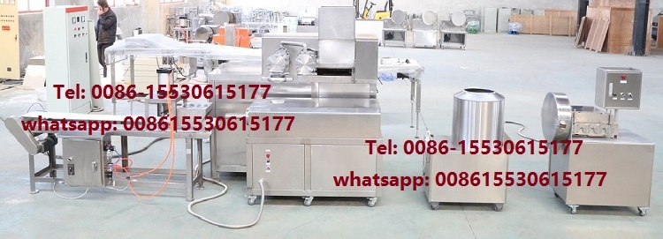 Shrimp Cracker Production Line /Colored Prawn Cracker Making Machine
