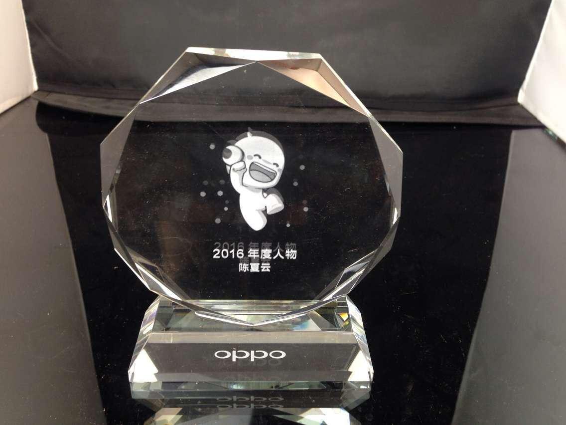 Fashion Design K9 Crystal Trophy