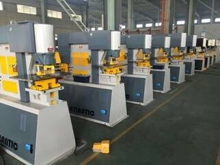 Hydraulic Steel Worker for Sheetmetal, Cutting, Bending and Punching Machine