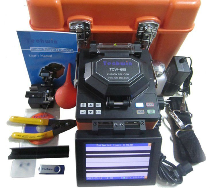 Splice Machine Digital Fiber Optical Fusion Splicer