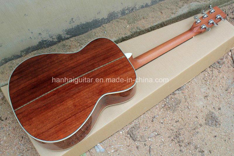 Hanhai Music / 41′′ Yellow Acoustic Guitar (00028)