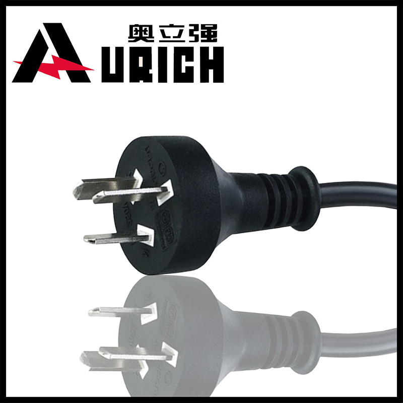 Argentina Iram AC Power Cord with 3-Pin Plug