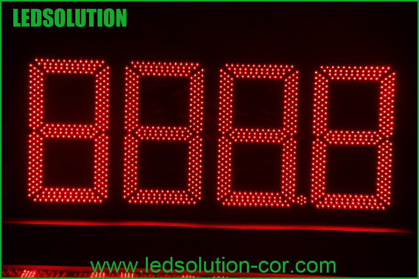 7 Segment Outdoor Gas Price LED Display