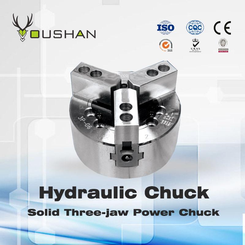 Solid Three-Jaw Power Chuck