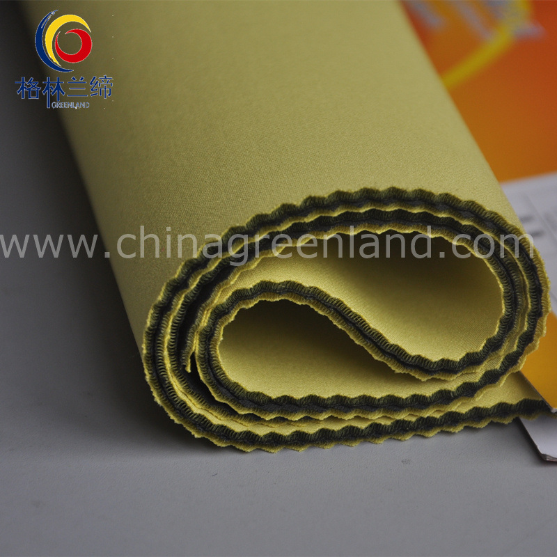 Polyester Spandex Scuba Knitted Fabric for Garment Textile (GLLKQC002)