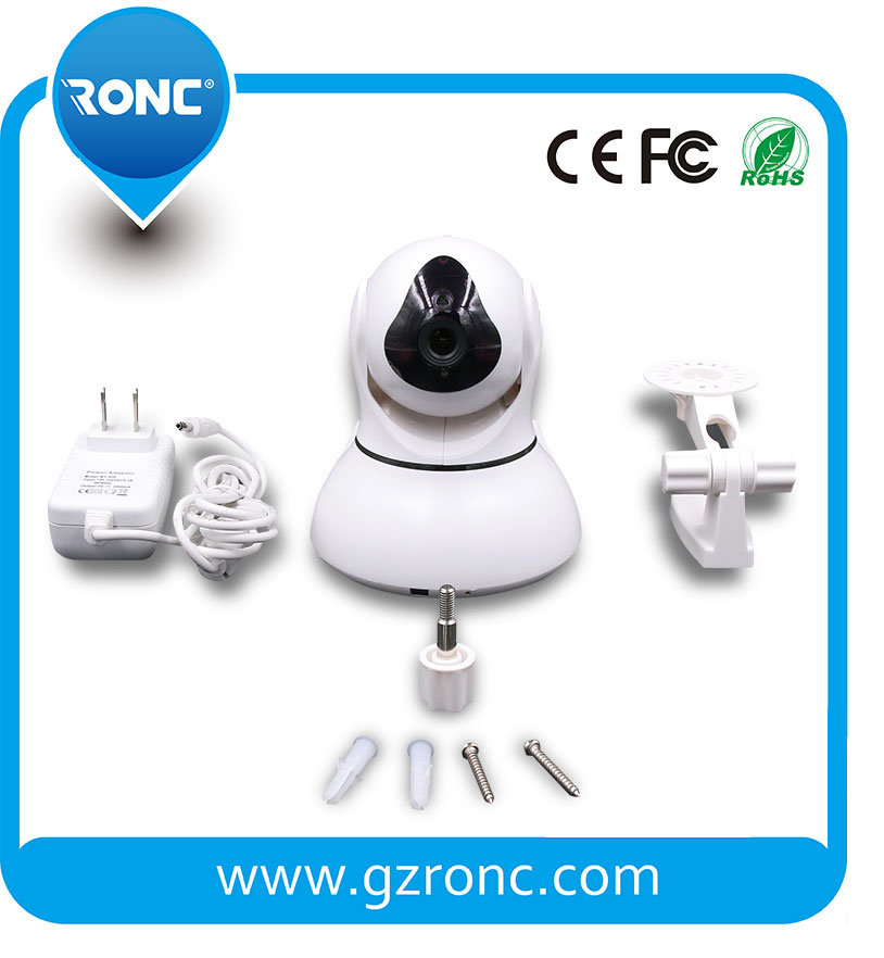 360 Degree HD IP CCTV Camera FCC, CE, RoHS Certification
