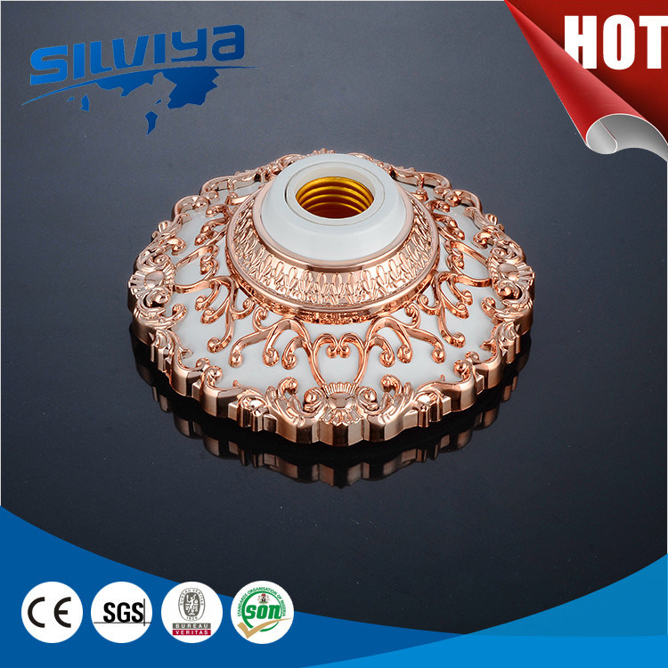 ABS Shell and Full Copper Accessories Ceiling Lamp Base
