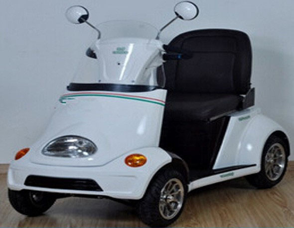 4 Wheels Mobility Scooter with One Seat for Old People (LDLS-E160)