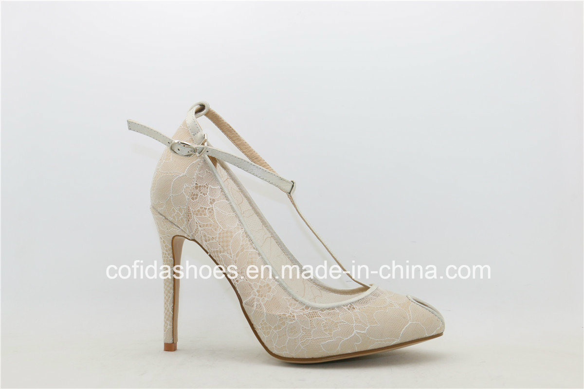 Fashion High Heels Dress Women Peep Toe Lady Shoes