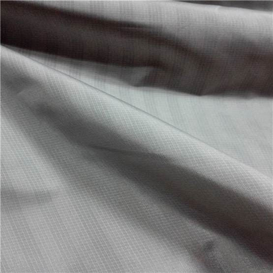 50d Woven Dobby Twill Plaid Plain Check Oxford Outdoor Jacquard 100% Polyester Fabric (X042)