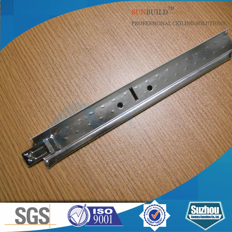 38h, 32h Galvanized Steel T-Bar (ISO, SGS certificated)