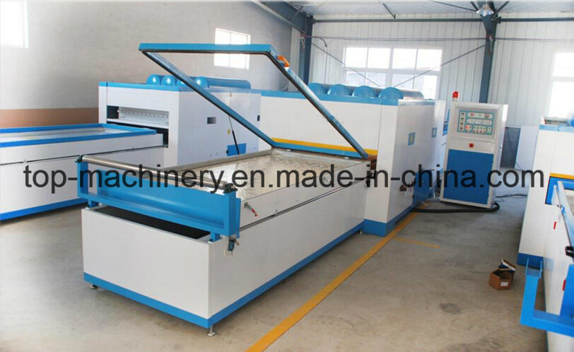 Vacuum-Compression Laminator Thermal Membrane on MDF for Furniture and Door