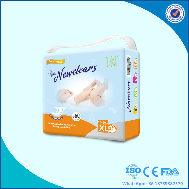 Soft Pamper Baby Diaper with Magic Tape