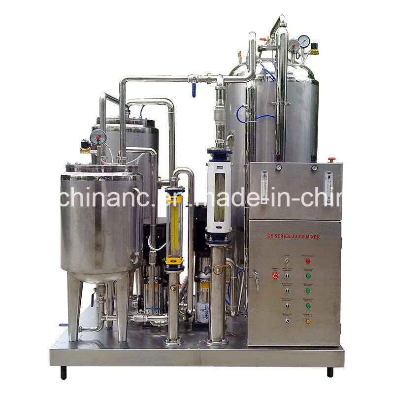 Full Automatic 3000L/H Carbonated Drinks Mixer