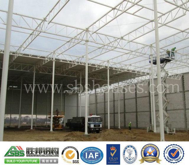 Prefabricated Standard Steel Structure Supermarket Construction