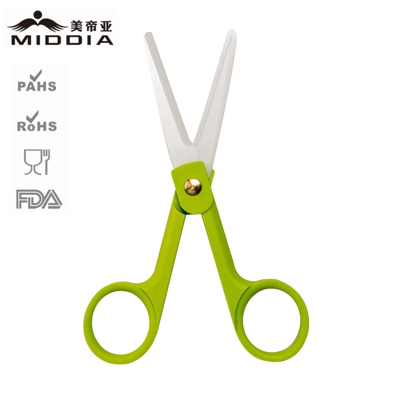 Wholesale 2 Inch Ceramic School Craft Scissors for Student