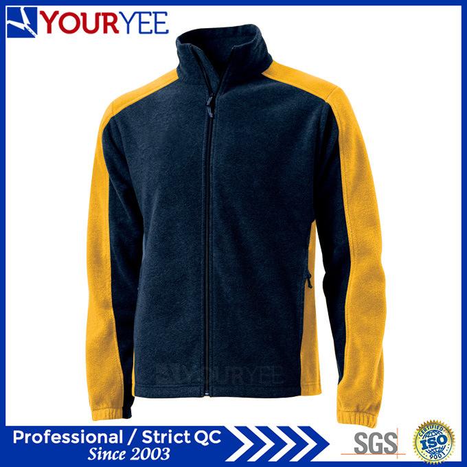 Hot Sell Two Tone Mens Polar Fleece Jacket (YYLR112)