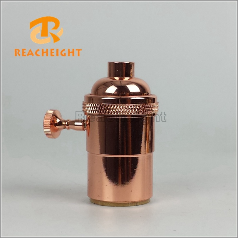 Brass Lamp Holder Copper Lamp Socket