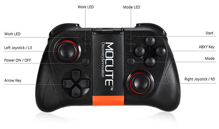 Mocute Wireless Game Controller Bluetooth Gamepad Joystick