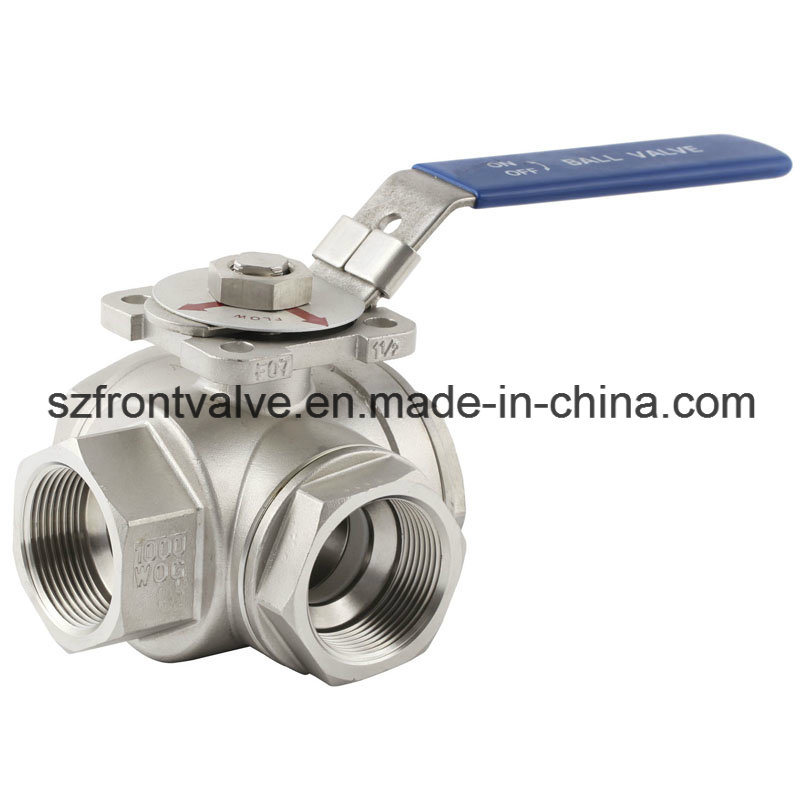 investment casting ss screwed ball valve
