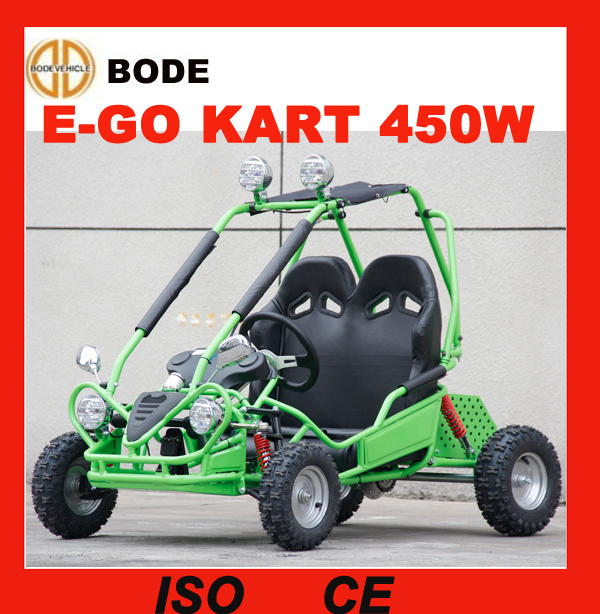 New 450W 2 Seat Mini Electric Go Kart for Sale