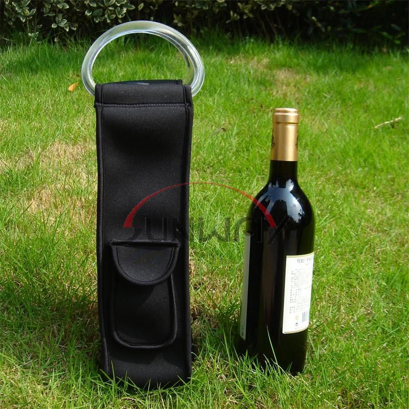 Cooler Bag, Fashionable Custom Neoprene Wine Bottle Holder (BC0031)