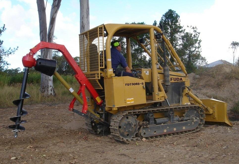 bulldozer caricatore cingolato combinazione Small-Bulldozer-Mini-Crawler-Tractor-Small-Crawler-Loader-with-Backhoe