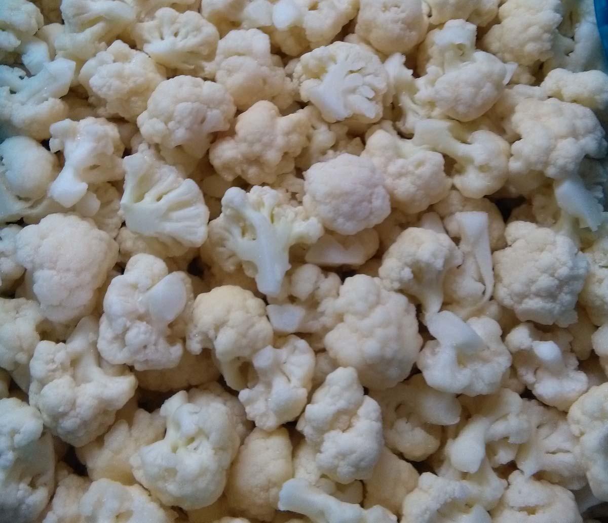Frozen/IQF Cauliflower Vegetables Food