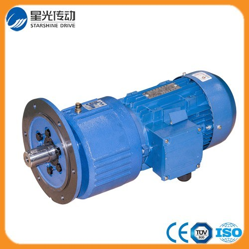 0.5HP Flange Mounted Ncj Series Helical Gearboxes