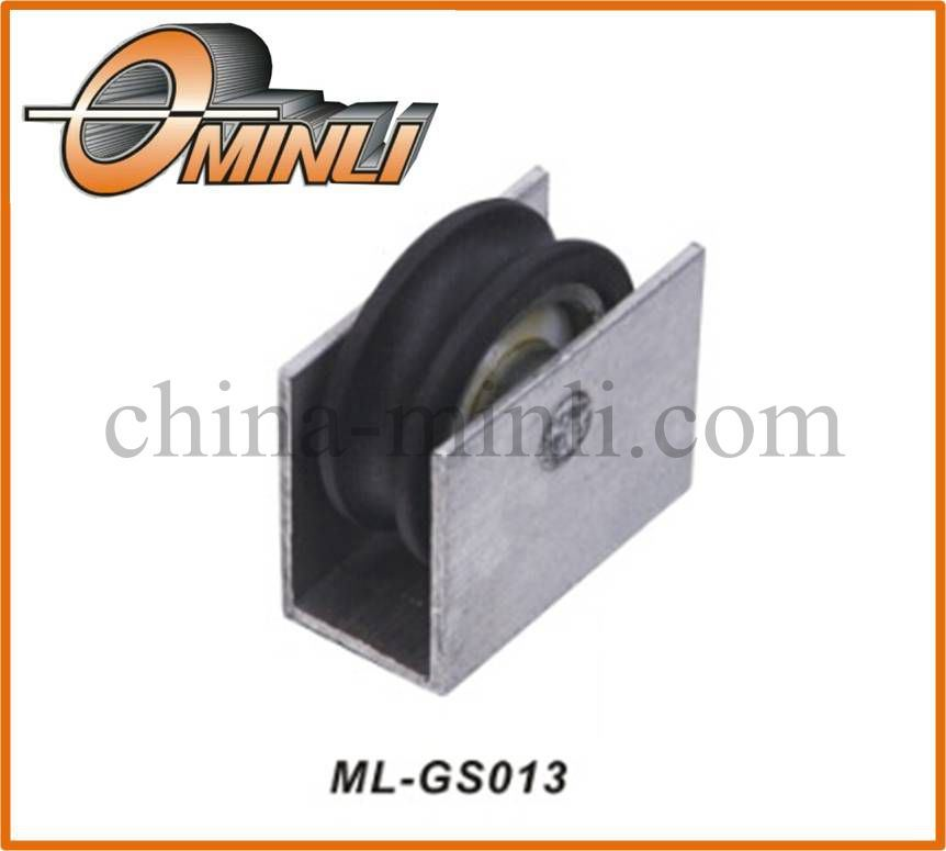 Single Wheel Aluminum Alloy Bracket Pulley (ML-GS013)