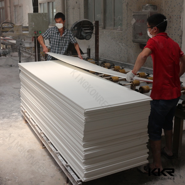 Kingkonree Resin Stone Price Acrylic Solid Surface Corian