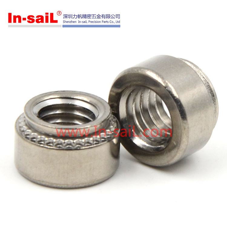 China Fastener Supplier Internal Threaded Self Clinching Nuts for Plate