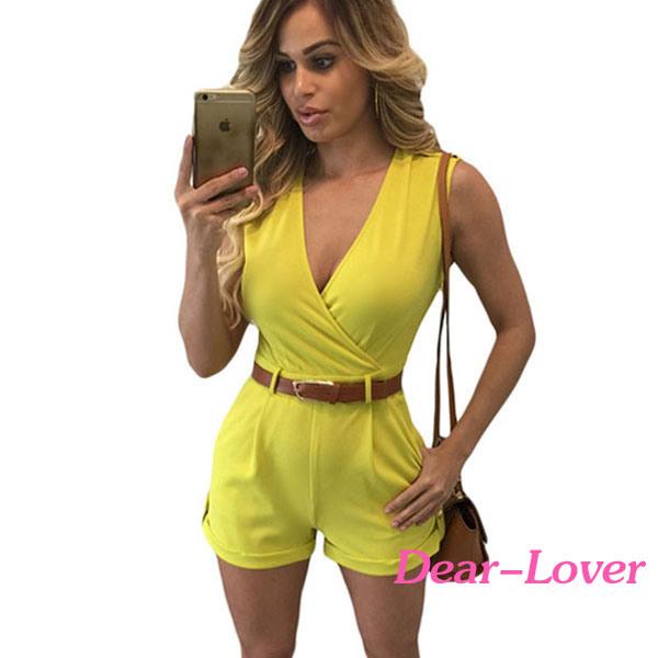 Fashion Women′s Ladies Sleeveless Romper
