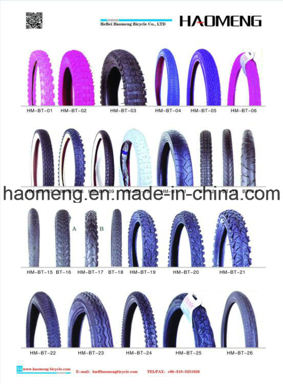 2016 Hot Selling Black Bicycle Tire