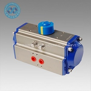 Spring Return (SR) Pneumatic Rotary Actuators/Valve Actuator with Positioner