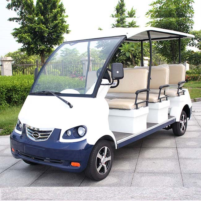 CE Approve 8 Passenger Battery Powered People Carrier (DN-8)
