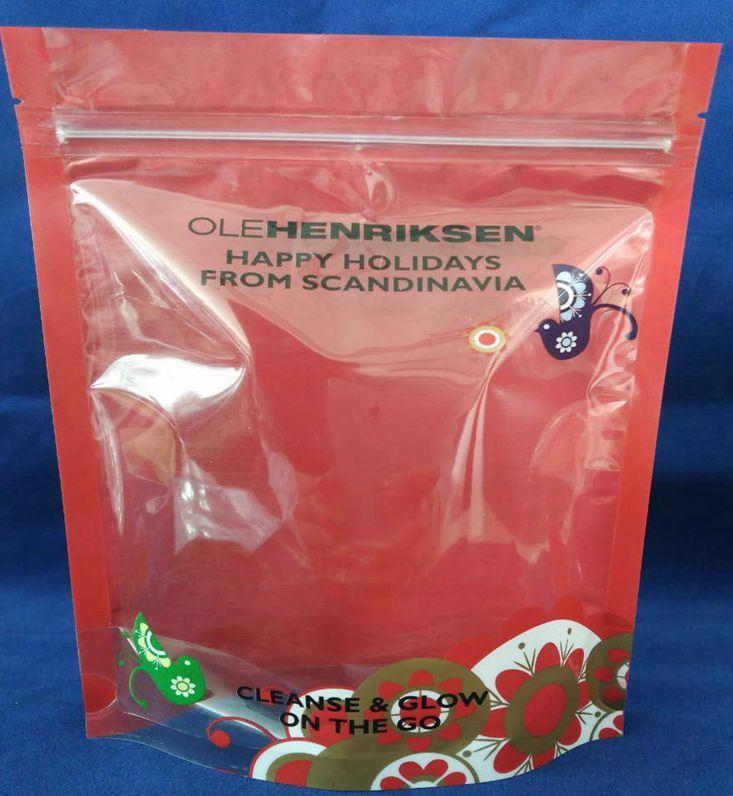 Stand up Plastic Packaging Zip Lock Zipper Bag